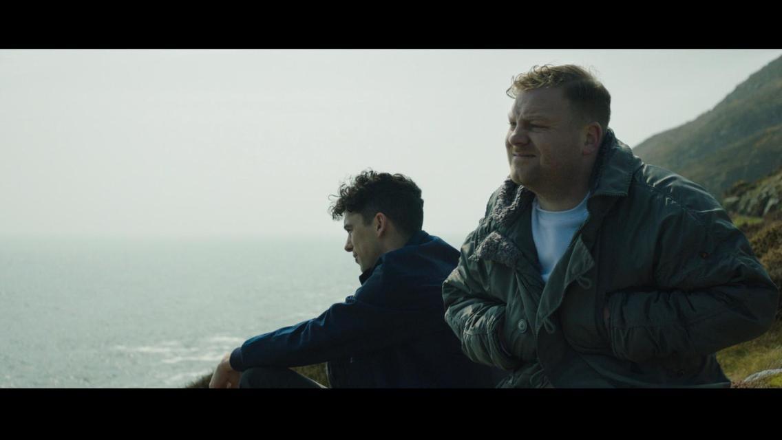 Dermot Murphy as Fintan alongside myself as Sasha in 'I Bet'