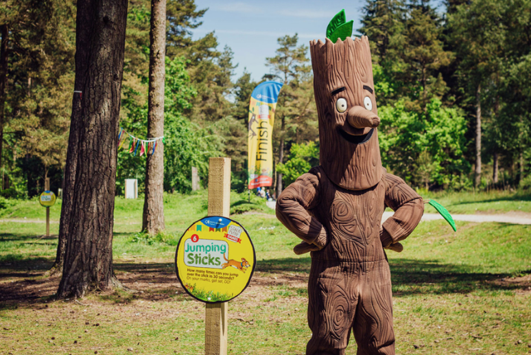 Stick Man Campaign for The Forestry Commission - Photo courtesy of Muddy Puddles Blog