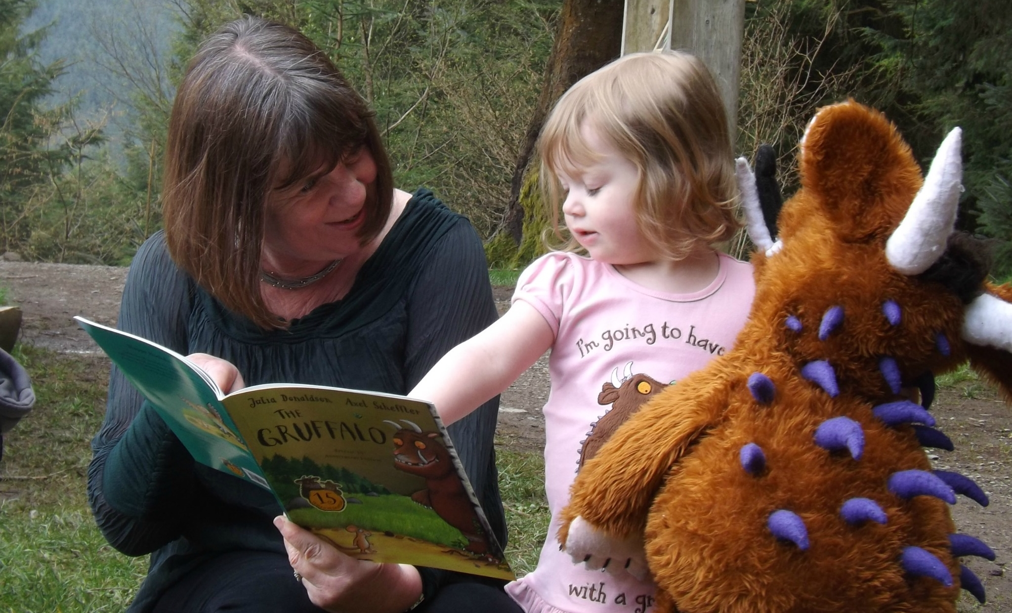 Family PR Campaign - Julia Donaldson, Author of The Gruffalo - Media Event on behalf of The Forestry Commission