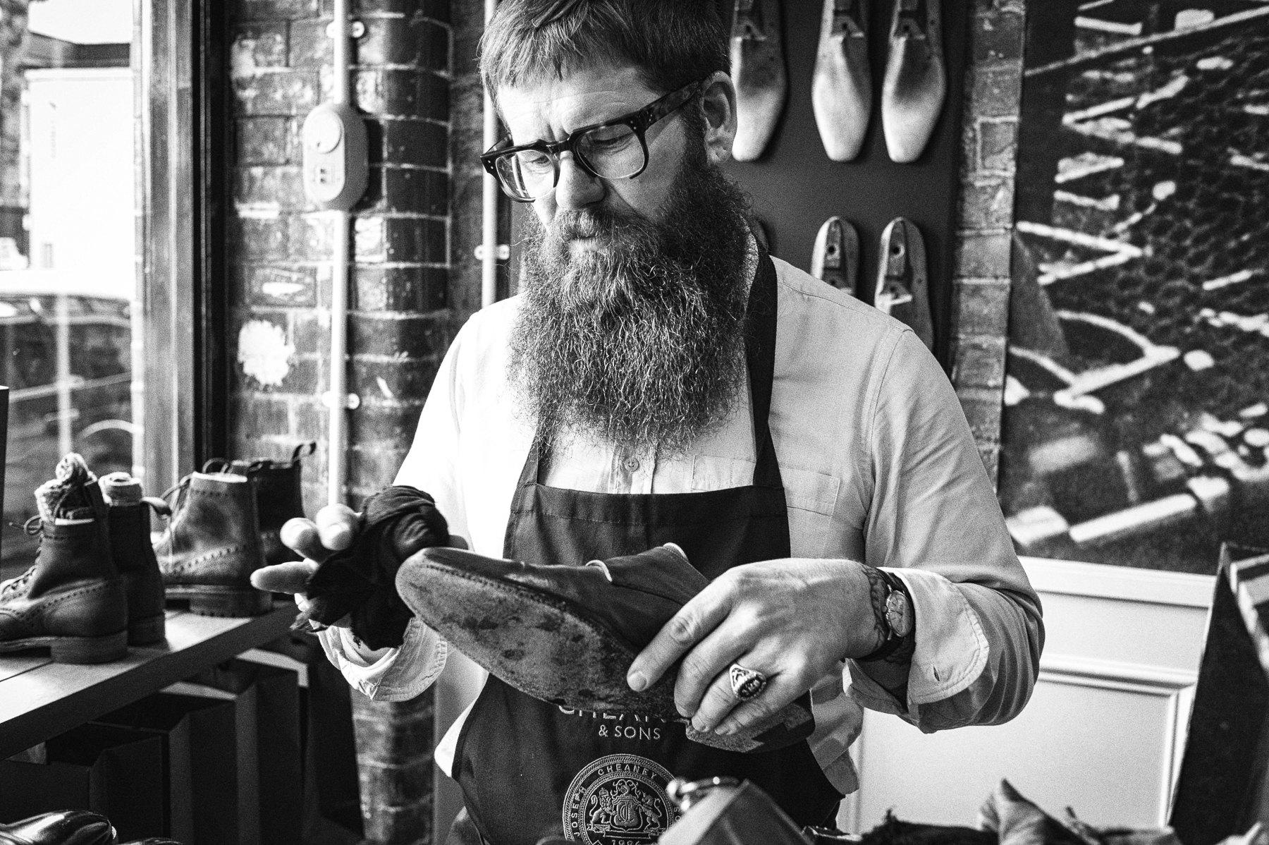 Ian, Shoe Master