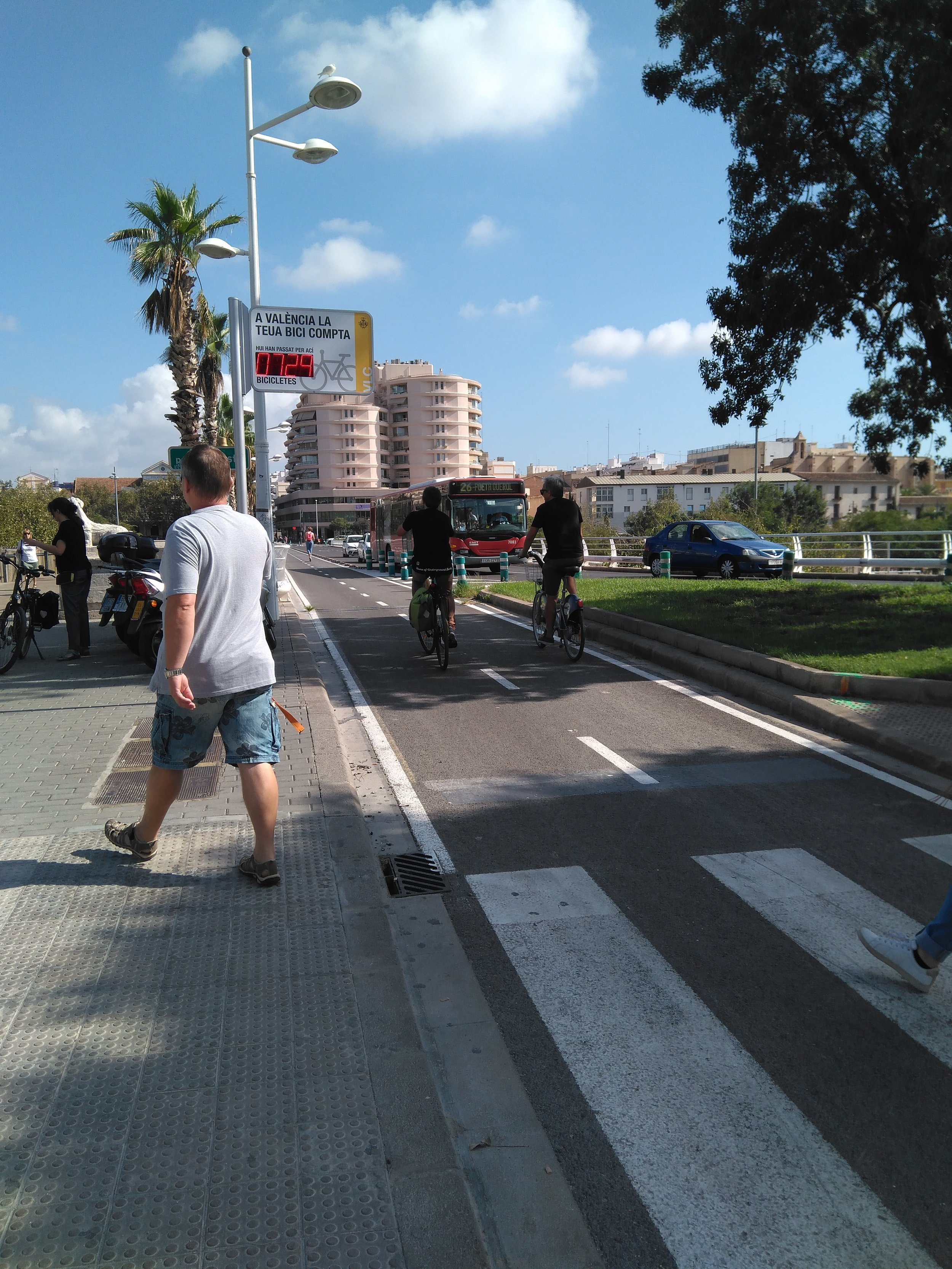 More bicycle counters and infrastructure.