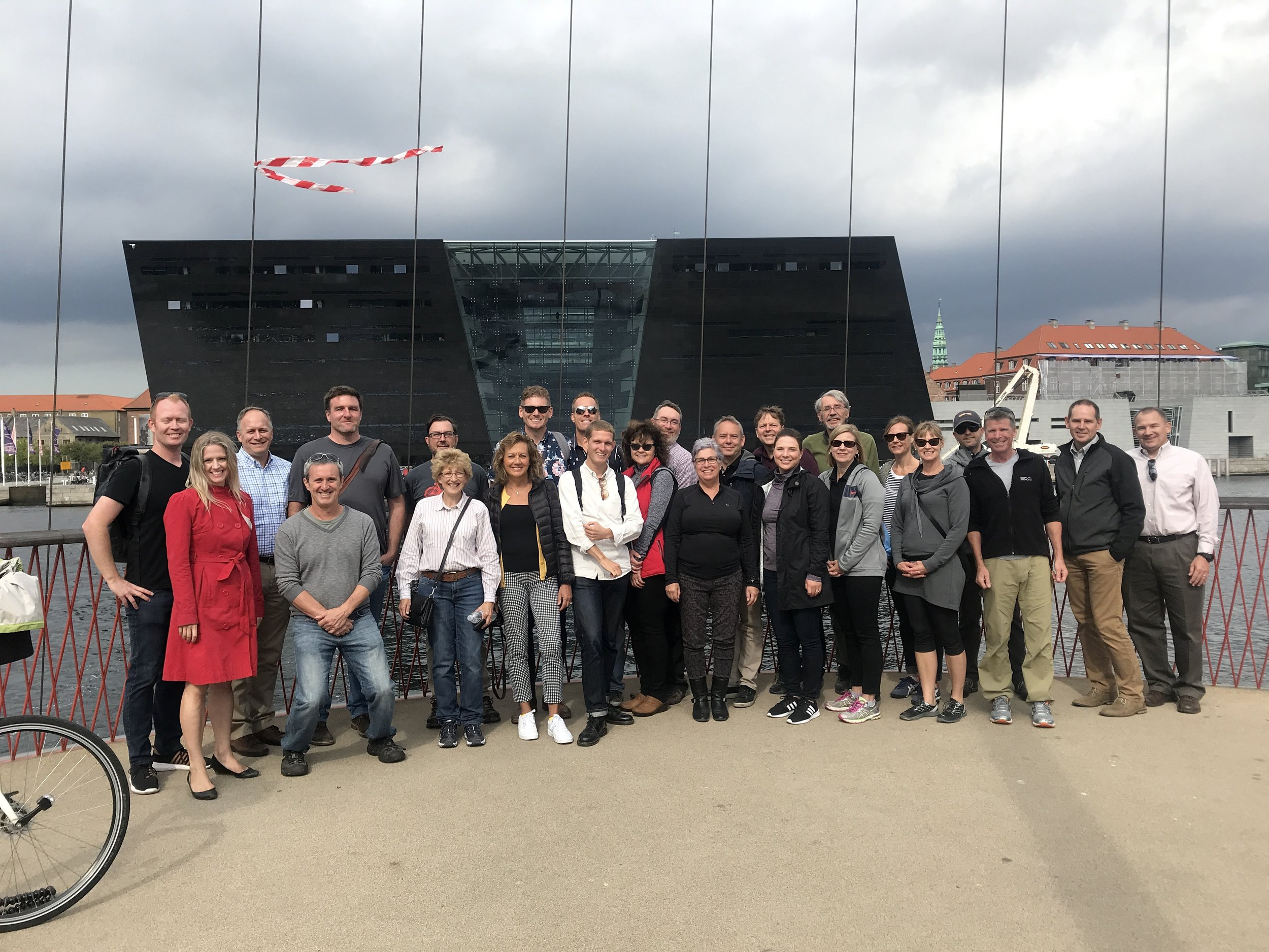 Policy makers from Washington State in Copenhagen.