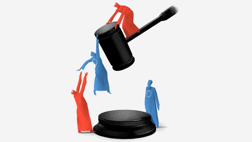 Die SVP will mit der Selbstbestimmungsinitiative die Menschenrechte verhandelbar machen. © Daniel Stolle für DIE ZEIT