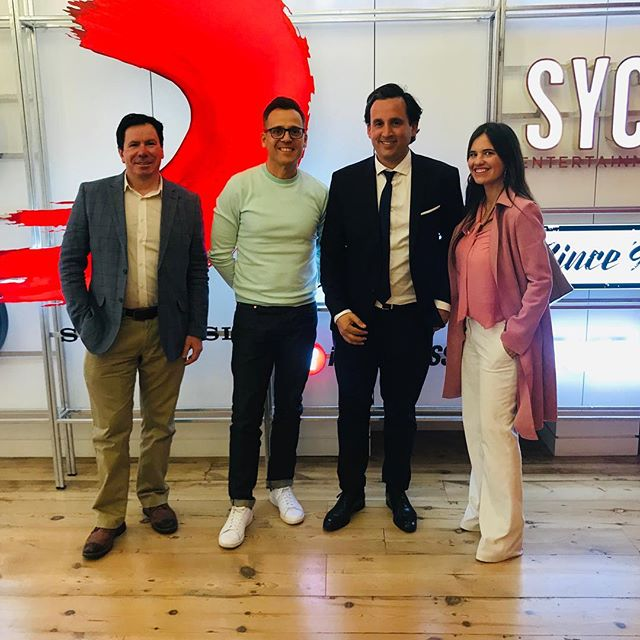 Fantastic meeting at @sonymusicglobal with the most #latino of the music producers @duskojustic !! More news coming soon, this partnership Branding Latin America & Sony is working in bringing the best music talents from the region to UK and Europe! . #sonymusic #sonymusiclatin #brandinglatinamerica