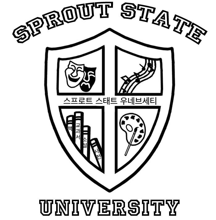 sprout state university BW.png