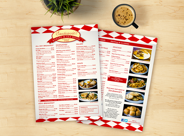 Click here to view our menu -
