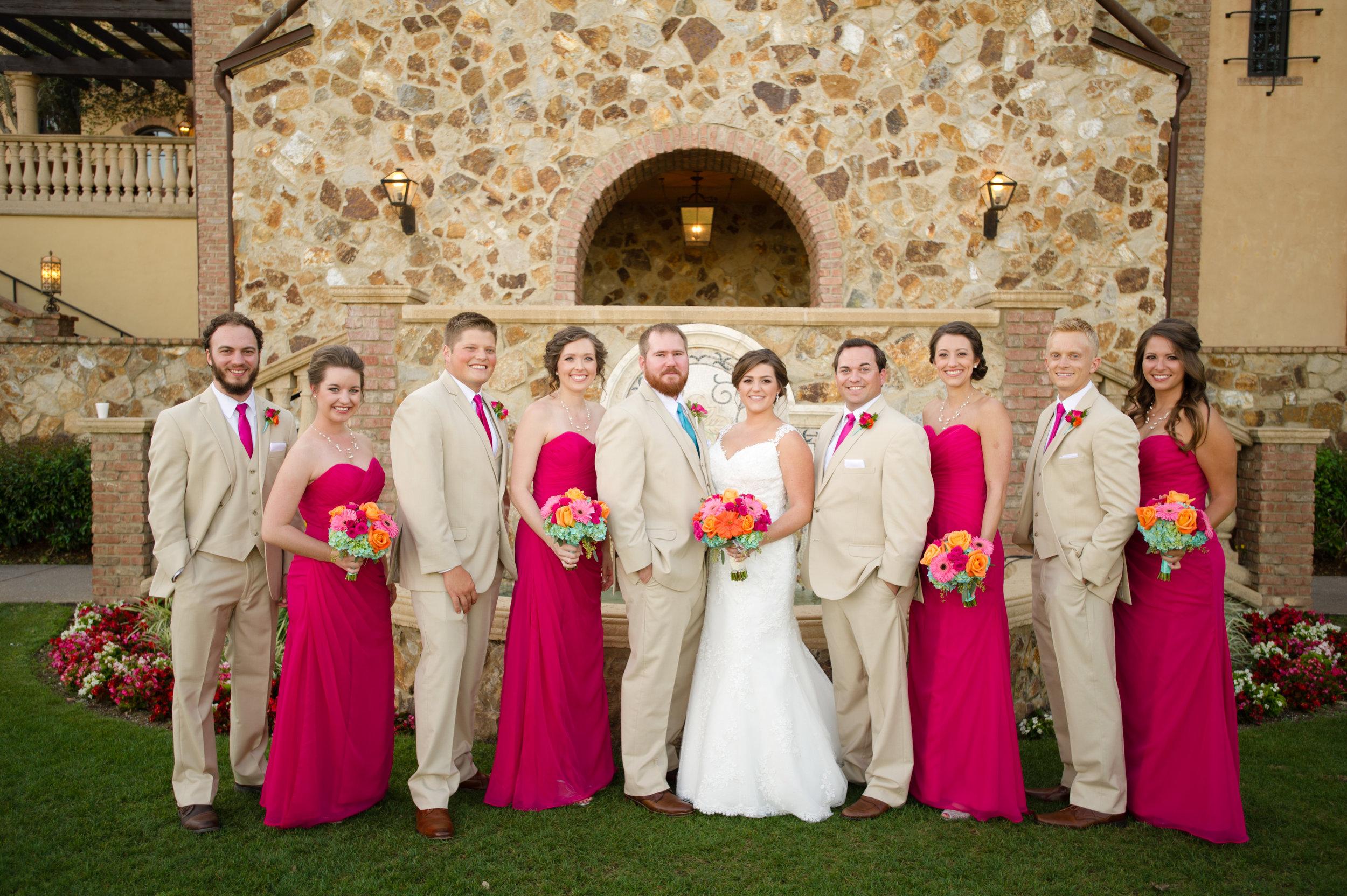 Wedding Dress - Bridesmaids dresses - Bella Collina Wedding Photography