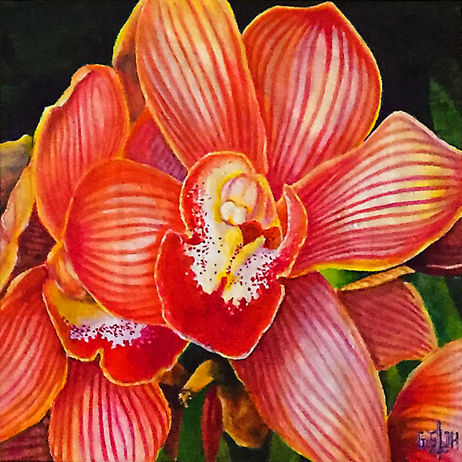 Orchid 2, Art by Getch