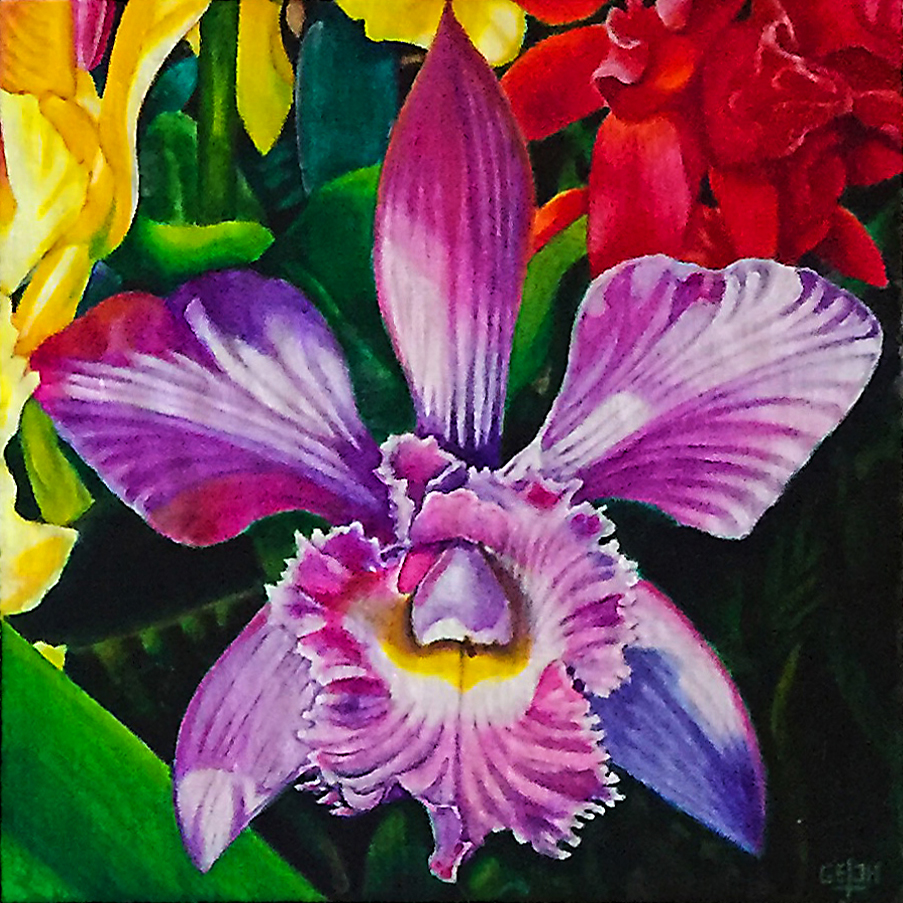 Orchid 4, Art by Getch