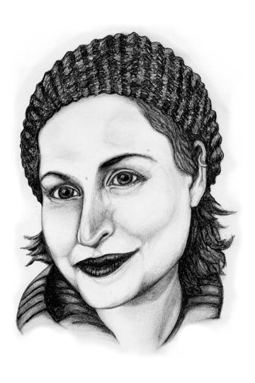 Gabriella, fellow artist, 3/27/11
