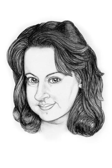 Rebecca, fellow artist, 4/10/11