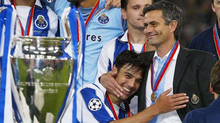 Jose Mourinho & FC Porto winning the Champions League in 2004