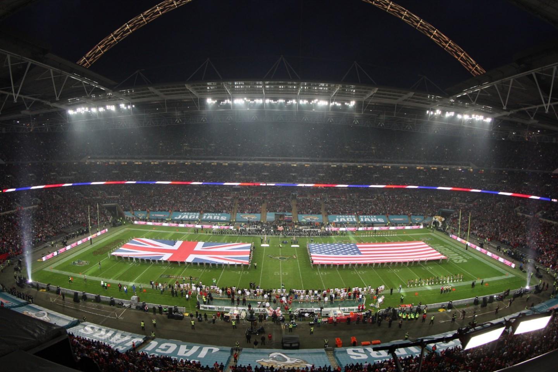Wembley Stadium is a regular venue used for hosting NFL games.