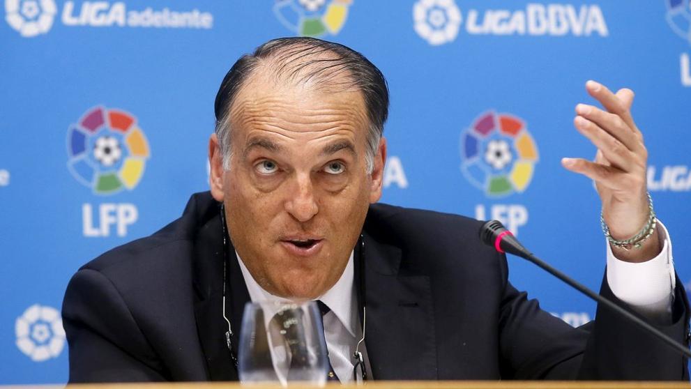 Javier Tebas, La Liga President