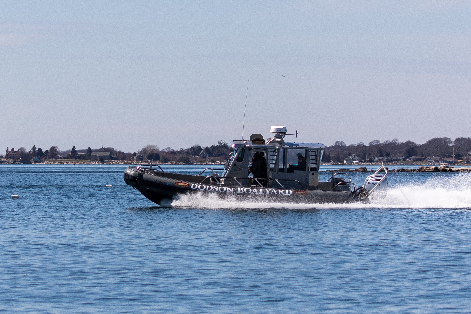 30' Military Grade SafeBoat