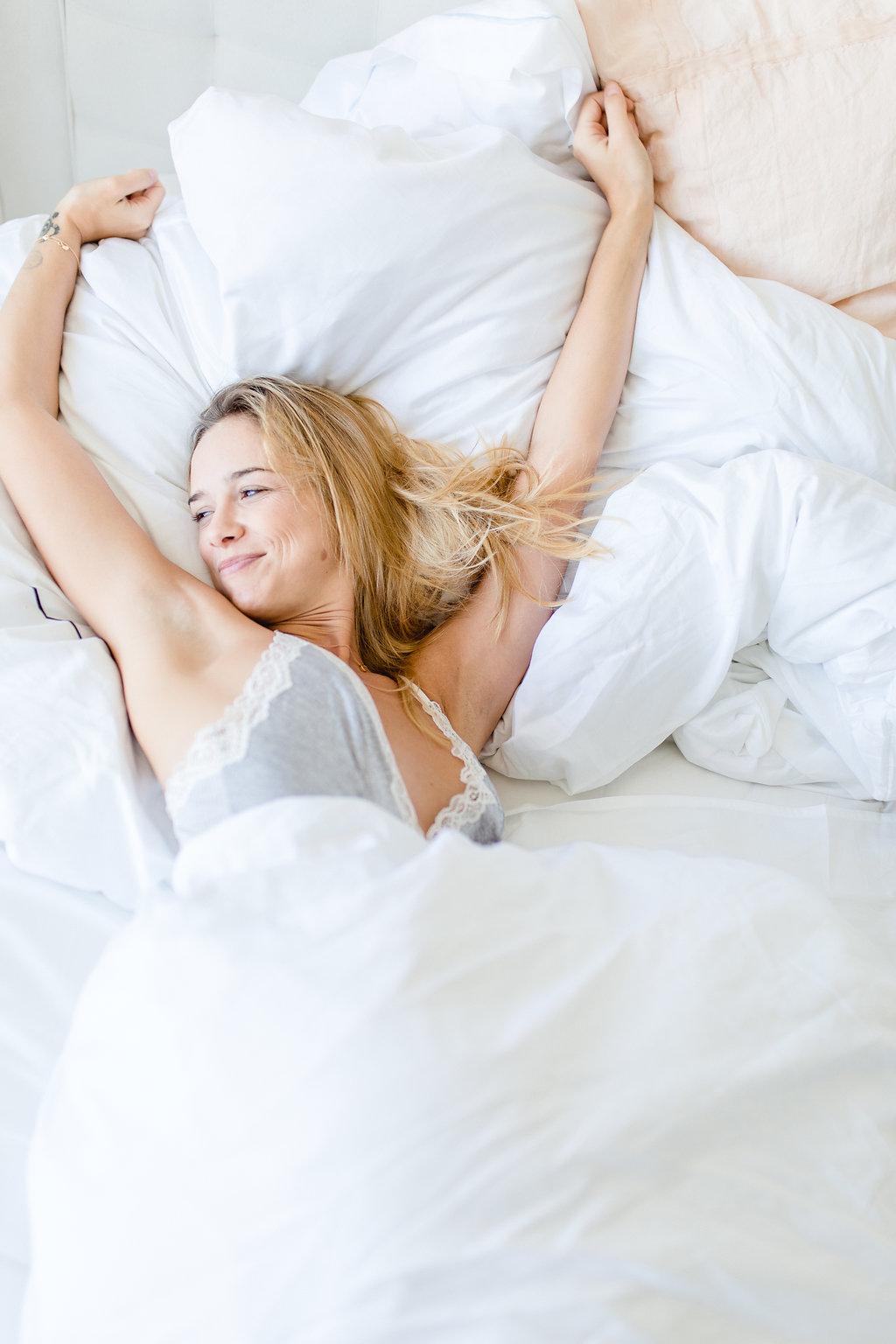 My luxury linen Scandinavian bedding basics Productive Morning Tips