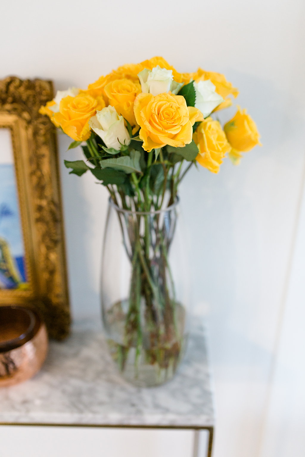 Make the most of midsummer with fresh yellow and gold shades in the bedroom.
