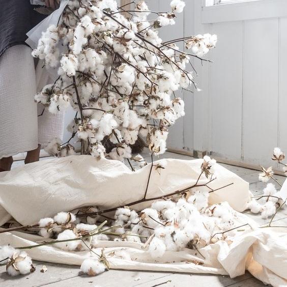 Bomull Blomma my luxury linen