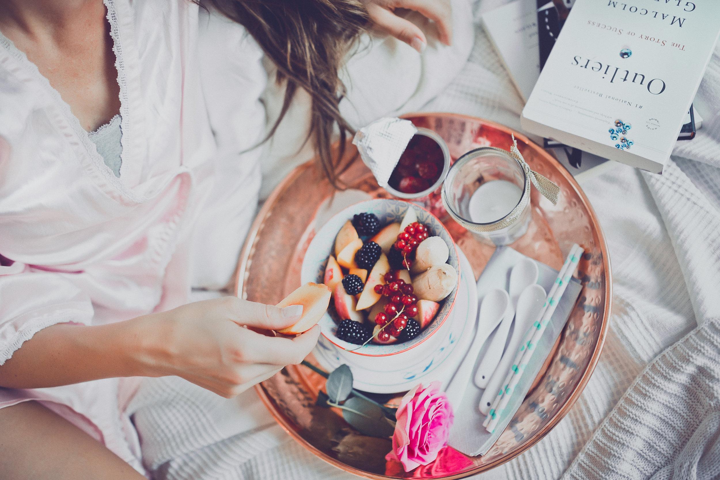 5 Easy Breakfasts in Bed My Luxury Linen