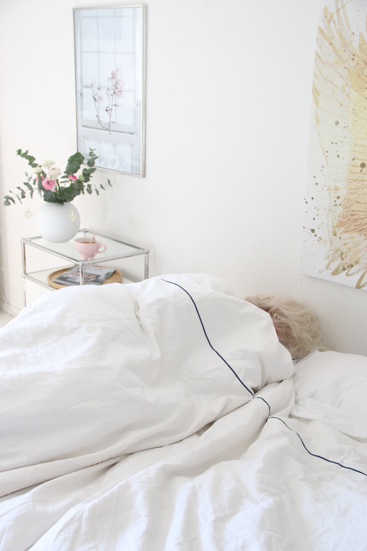 My Luxury Linen Always and much; sleep routines with Sabine1.JPG