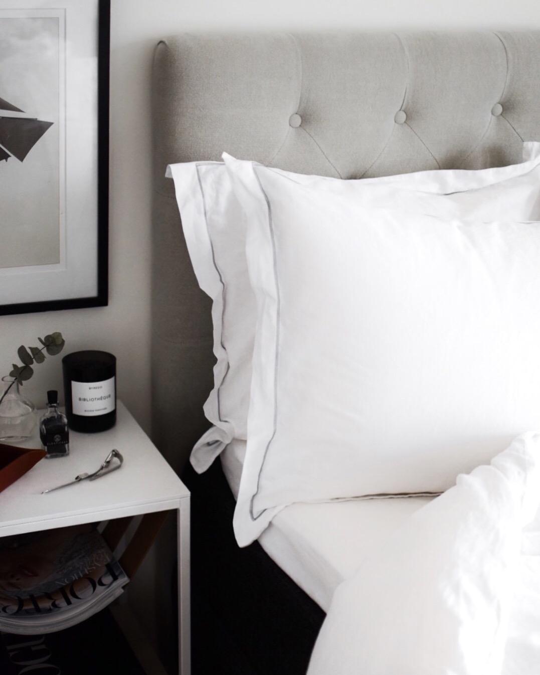 My Luxury Linen Grey Pillows