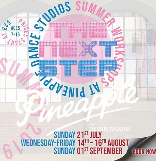 UK #steppers! Want to have a place in the official The Next Step Summer workshops at @pineappledancestudios ? Of course you do! You'll learn original TNS choreography and dance styles with Pineapple teachers at the world-famous dance studios in London's Covent Garden! July 21st is the next workshop date with dates also in August and September ! Book now at the link in our bio! #tnsxpineapple #thenextstep