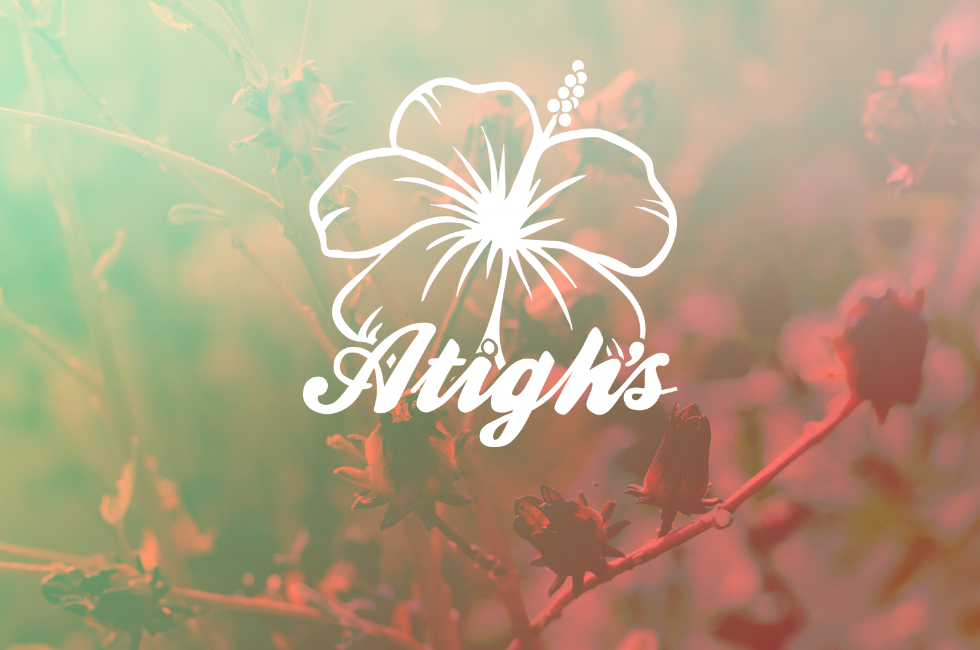 atighs, boisson hibiscus, Biologique, Jus, Produit de Québec, Goût original, menthe, gingembre
