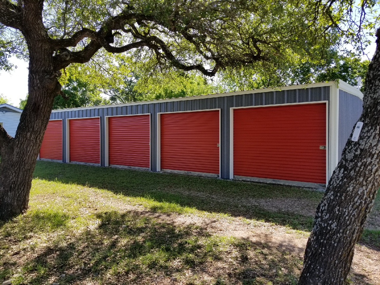 Silverado Storage - 5 Units / 10x20 / $85 monthly / currently all unit leased. For more information contact us at 512.948.1739.