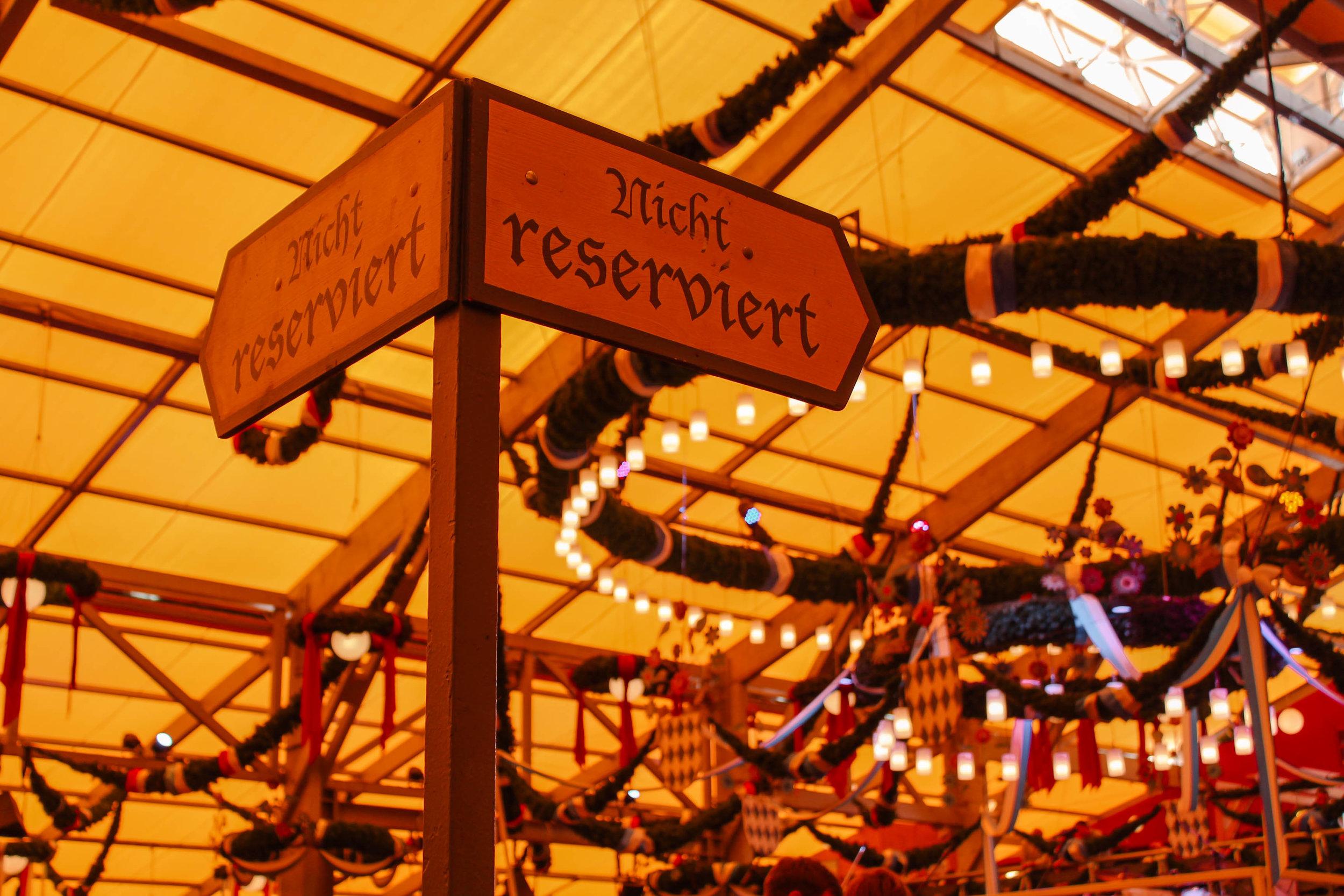 Ultimate Oktoberfest Guide Reservation