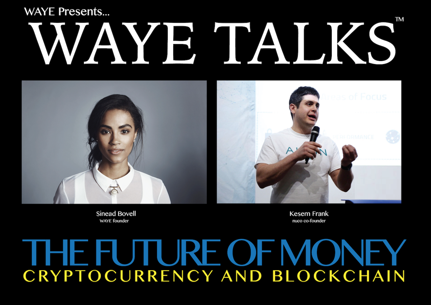 THE FUTURE OF MONEY: Cryptocurrency and Blockchain - Thursday March 15th, 7:30pm-9:00pm