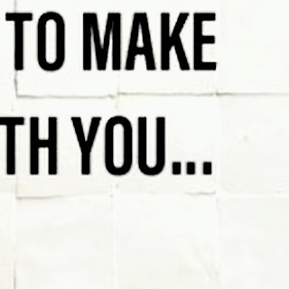 I want to make art with you...