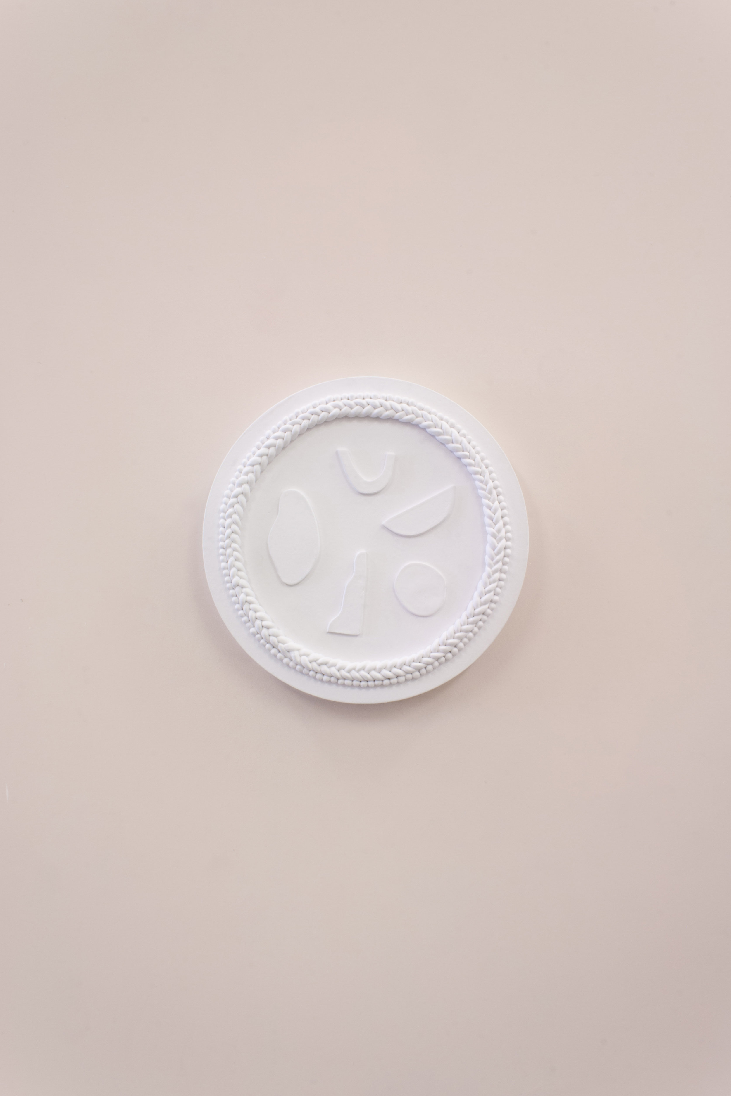 Ceiling medallion Polar I by c.a. walac.