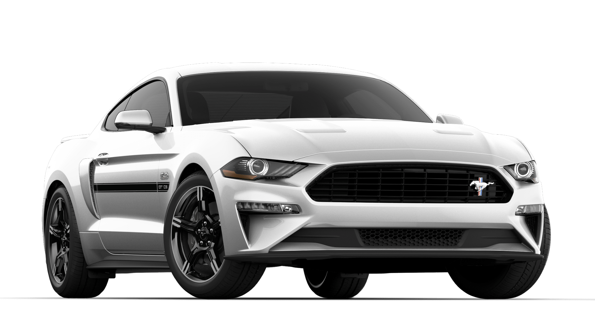 V8 GT PREMIUM 401A$48,414 - + OXFORD WHITE+ 10-SPEED AUTOMATIC TRANSMISSION+ CALIFORNIA SPECIAL PACKAGE+ QUAD TIP ACTIVE EXHAUST
