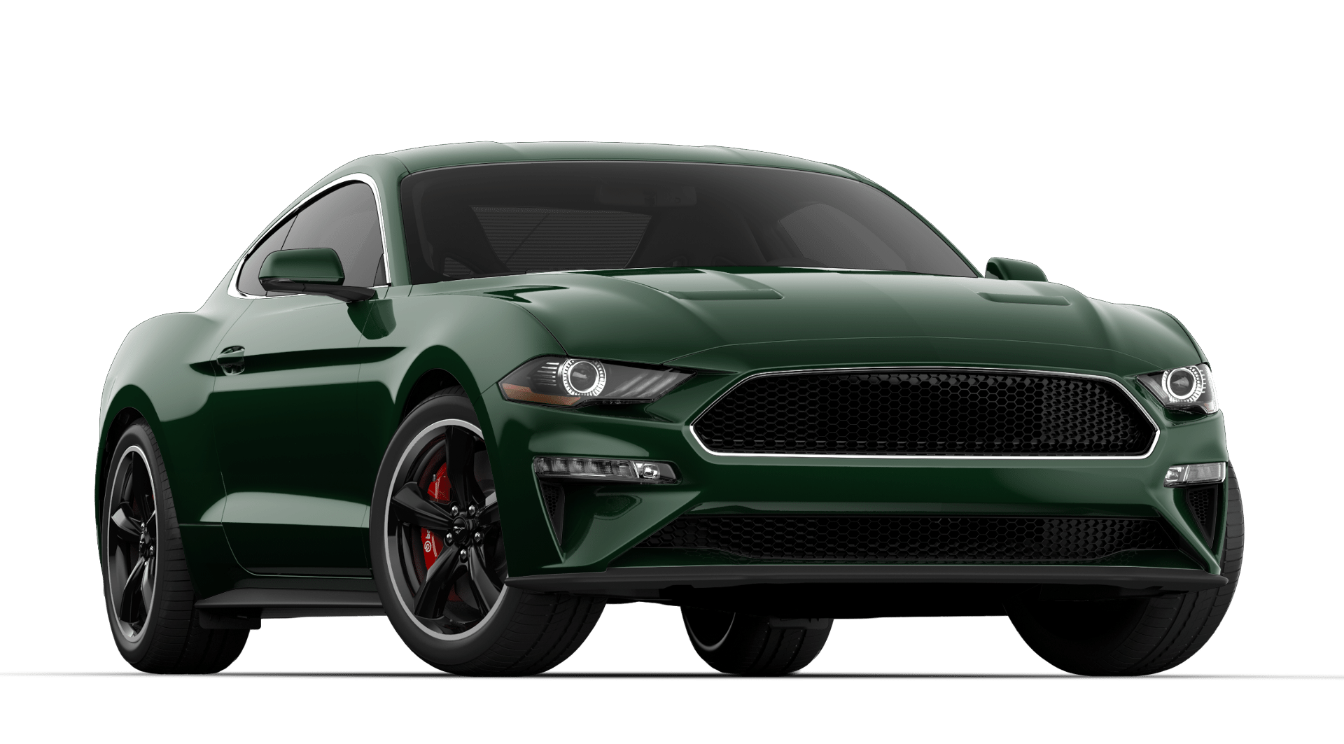 V8 GT BULLITT 500a - + DARK HIGHLAND GREEN+ 6-SPEED MANUAL+ BULLITT PACKAGE w/QUAD TIP ACTIVE EXHAUST & MAGNERIDE DAMPING SYSTEM+ VEHICLE COVER INCLUDEDsORRY - sHE'S gONE!