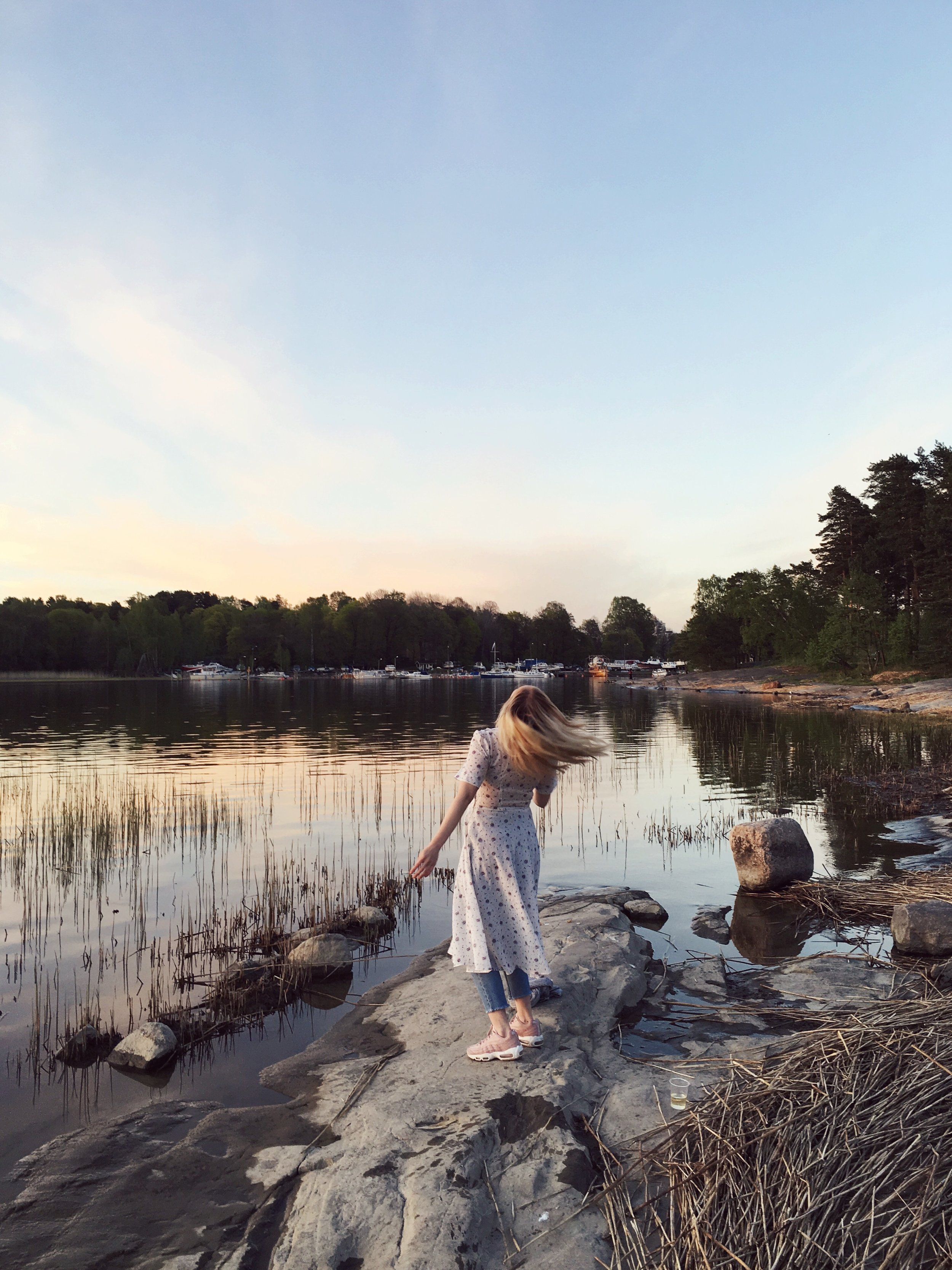 First summer in Helsinki after London -