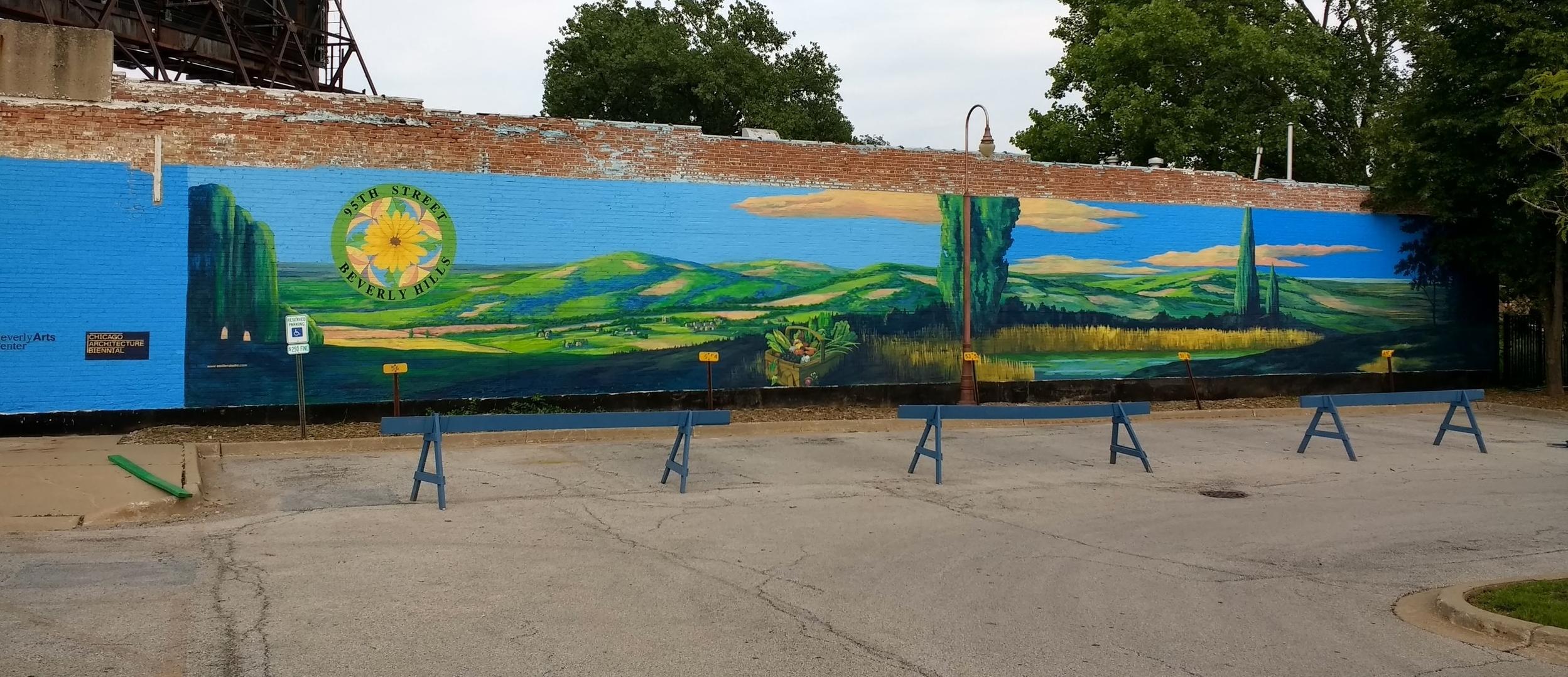95th St. Farmer's Market Mural