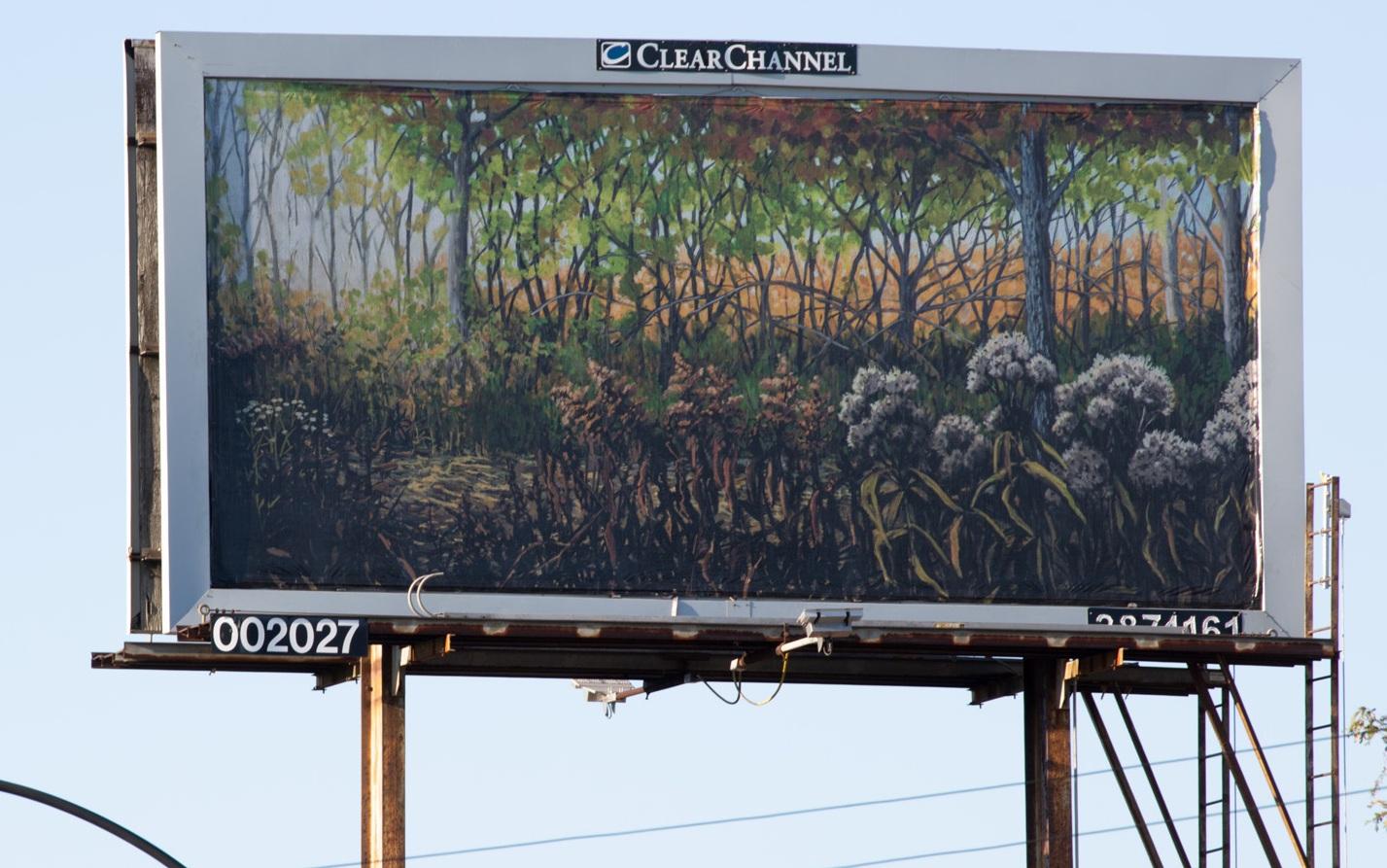 """""""Remnants: September"""" billboard"""