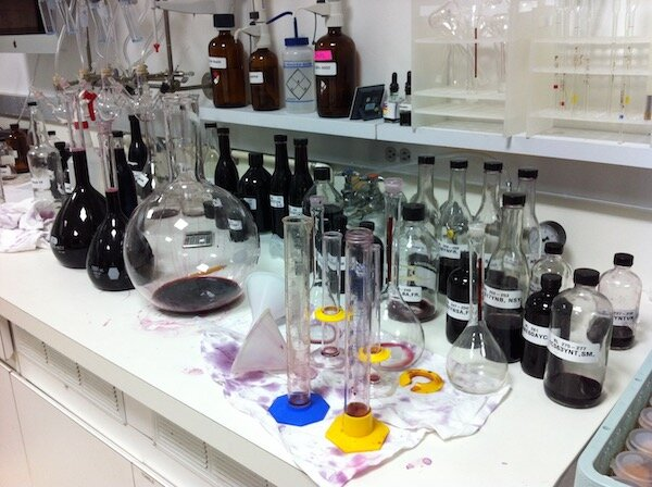 The chaos of creating wine blends