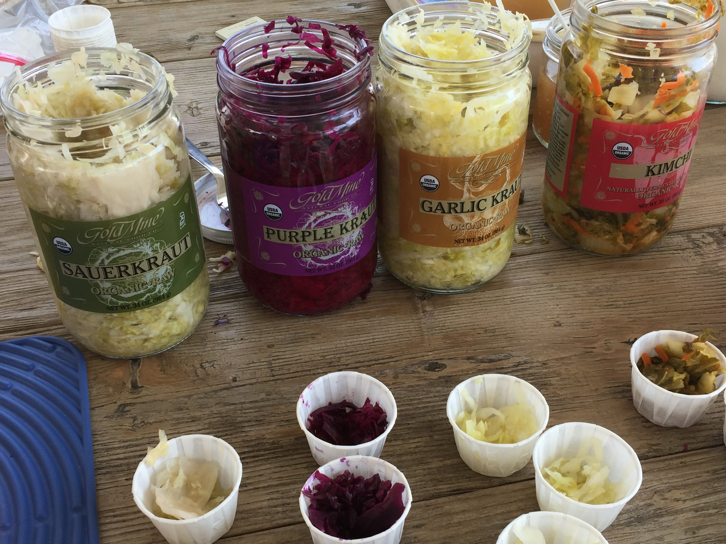 Kraut comes in so many varieties and is SO good for you!