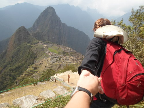 Adventure with me! (I hiked Machu Pichu as part of my adventure in Peru two years ago. But I decidedly did  not  do it alone.)