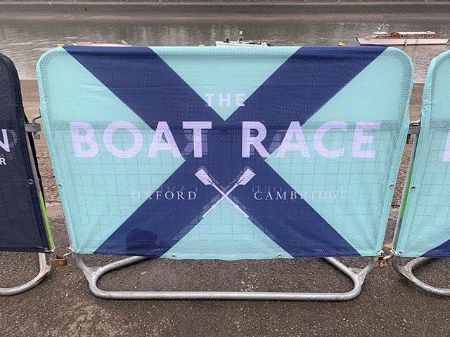 Slinging breads down the boat race today!  Which blue are you? #boatrace #rowing #sailors #seashanty