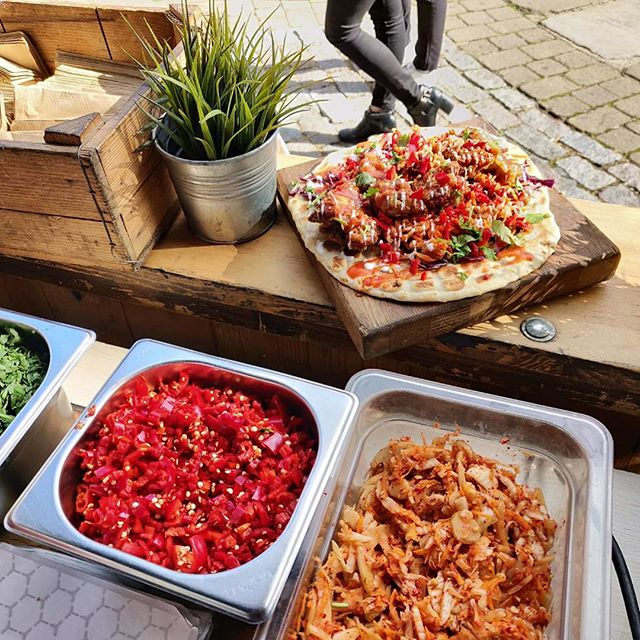 Happy Easter!  Next week - find us at @kerbfood Kings Cross on Friday 26th.