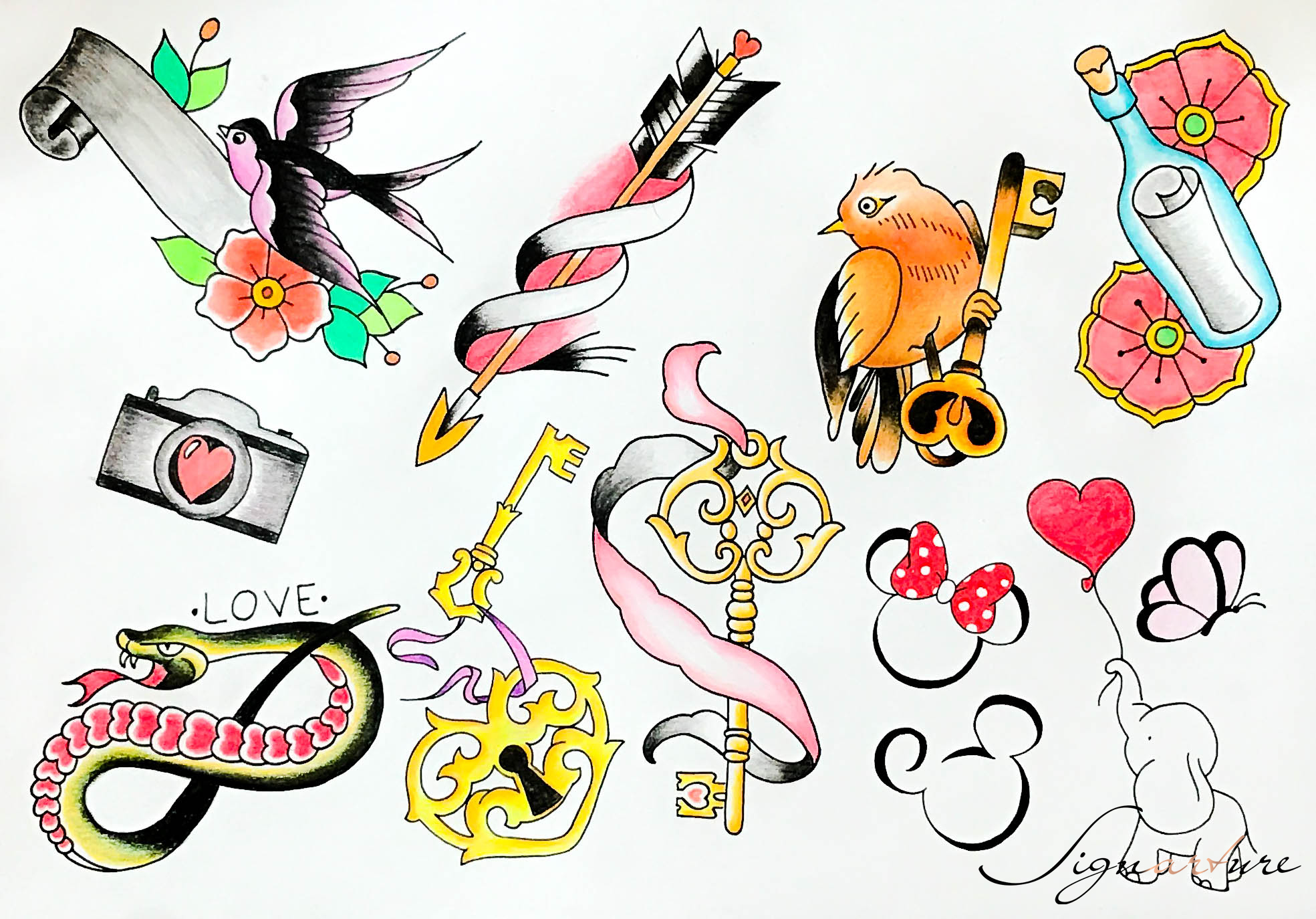 Valentine Flash Tattoo Special | Signarture GmbH