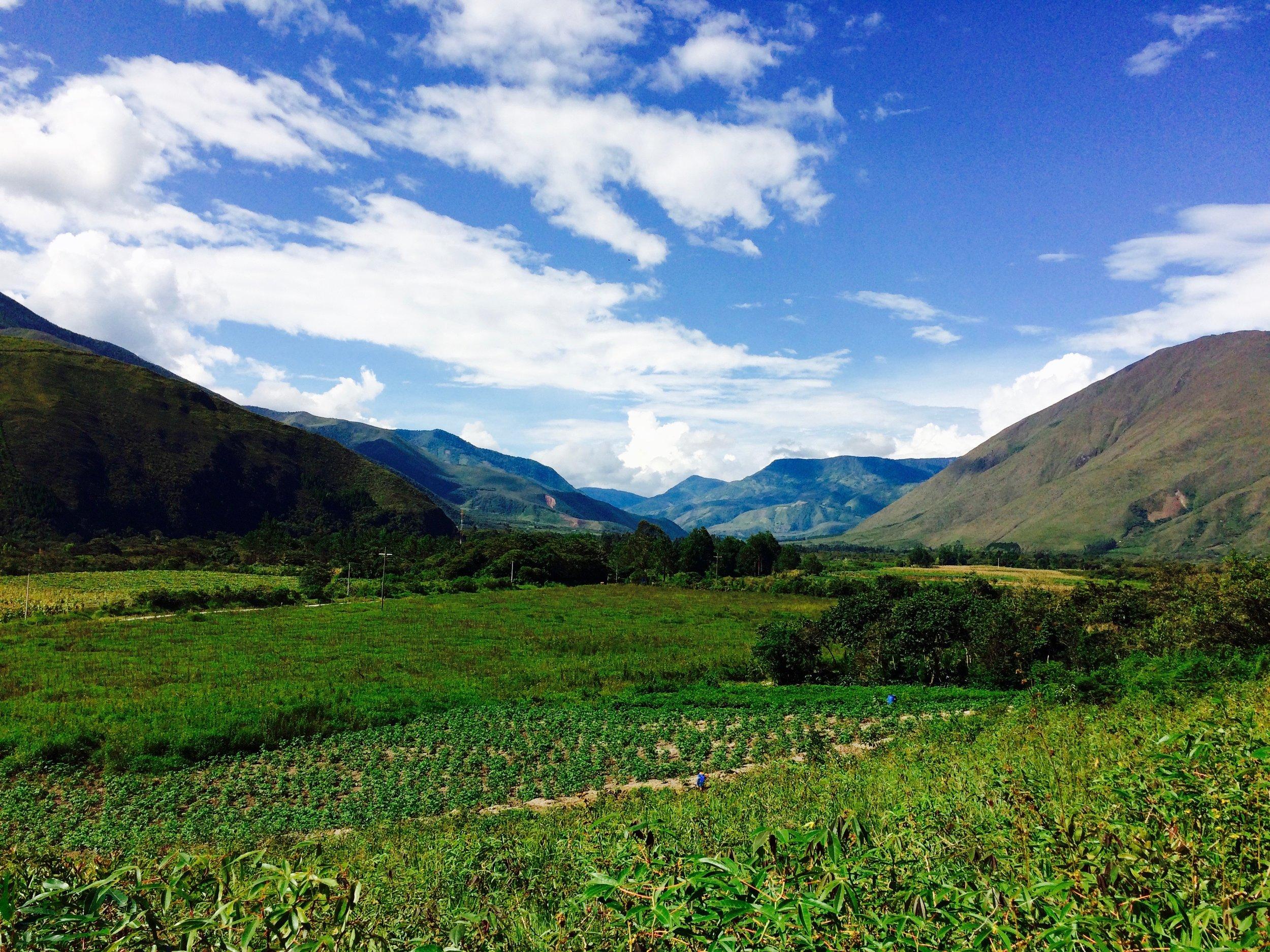 El valle del Fundo La Colorada - vengan a conocerlo con nosotros! -