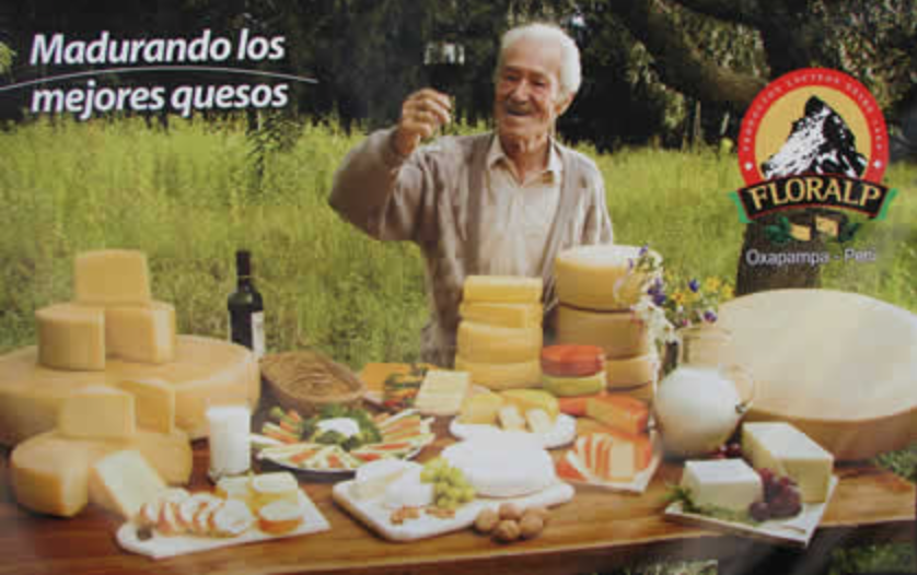 Los ricos quesos de Floralp. Visita su planta y tienda en Chontabamba, a 15 minutos de Oxapampa -