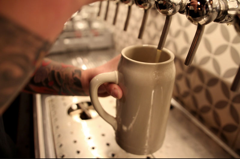 BEERS at the TAP Room -