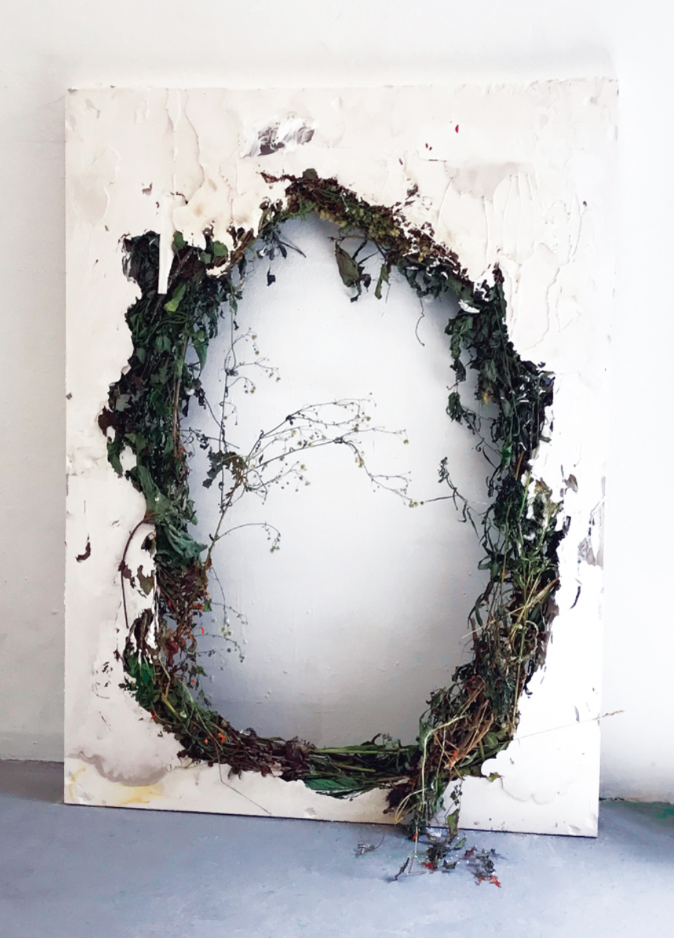 Image:   Untitled (Wreath)  ,   ©  Jack Henry   , 2017.