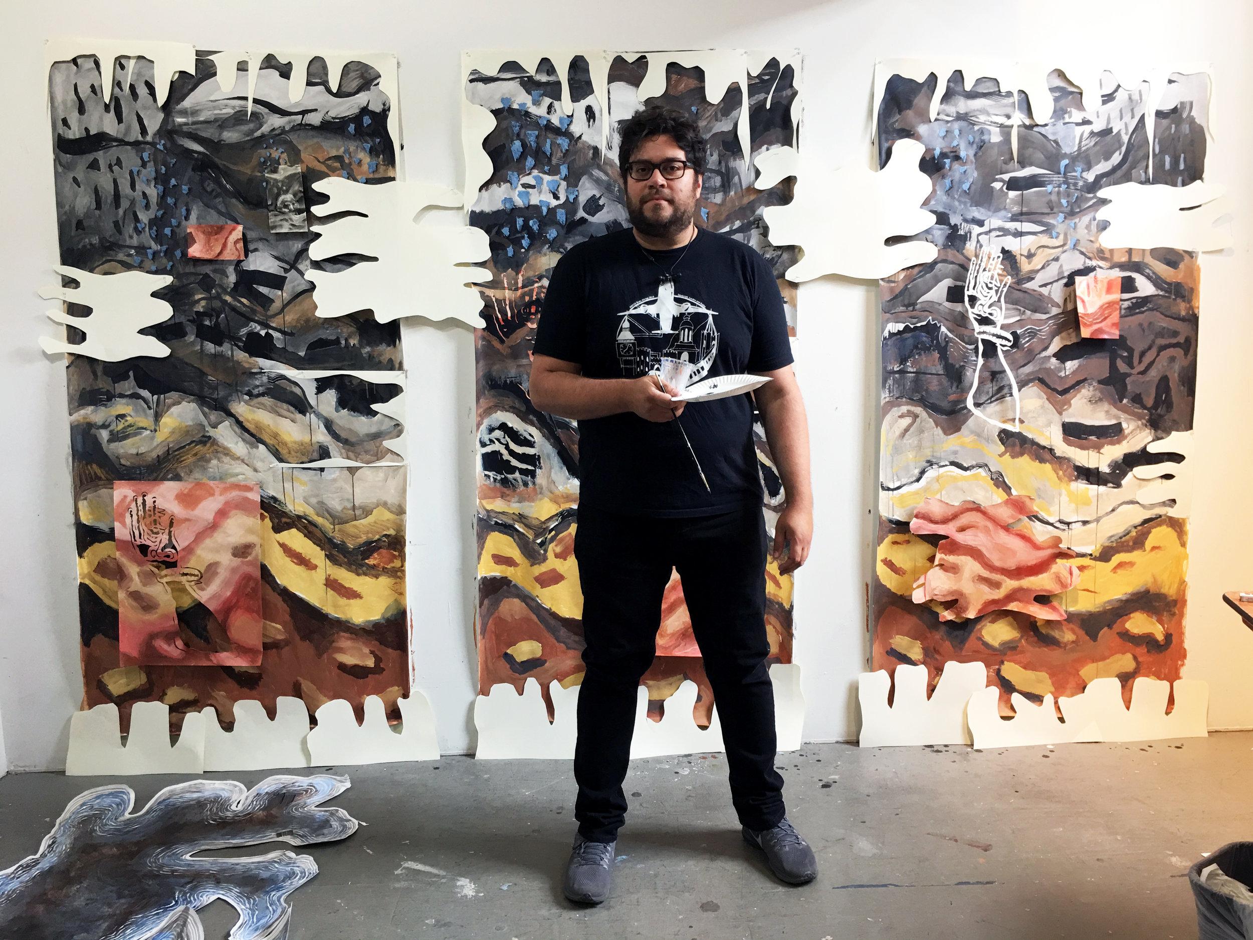 Kyle Larson   (work in progress at the Studios)
