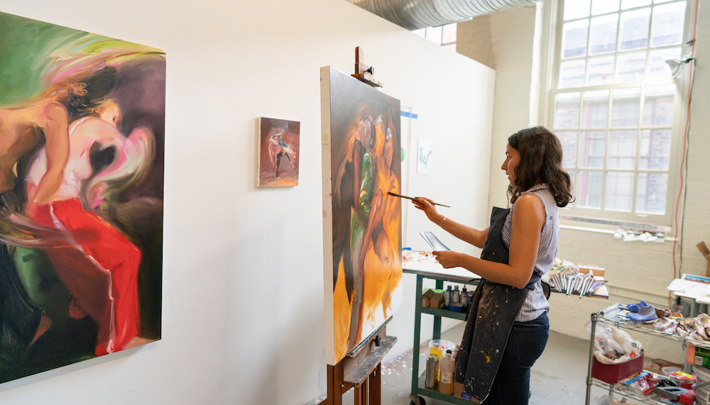 Ariel Basson Freiberg , works-in-progress in collaboration with dancers at  Jacob's Pillow