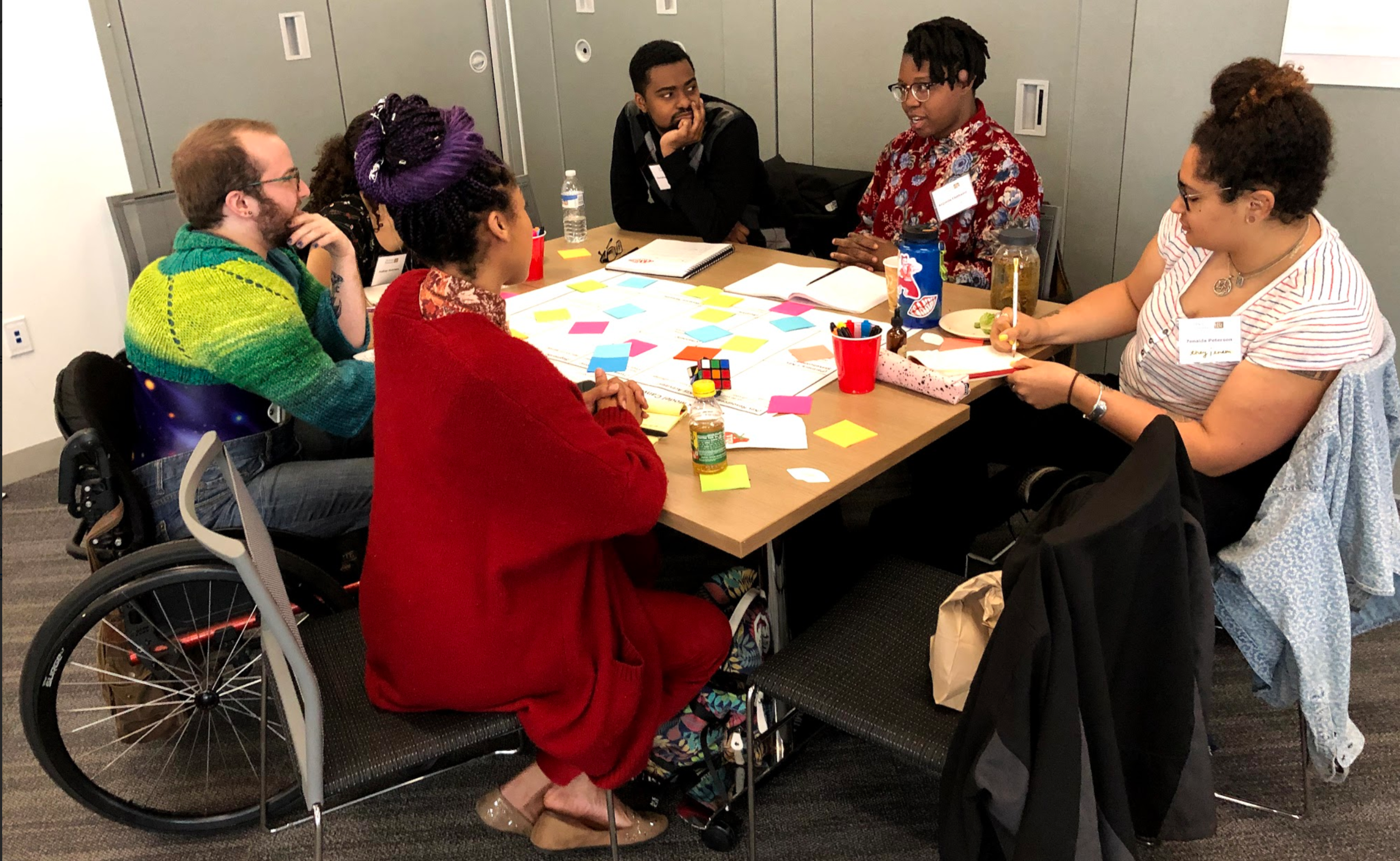 Discussions during the 2019 Nuts & Bolts for Performing Artists workshop